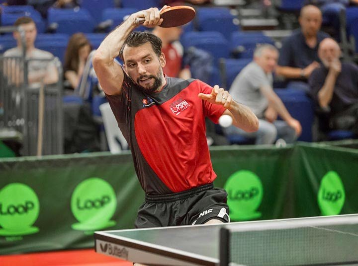 Filip Syzmanski polish table tennis player