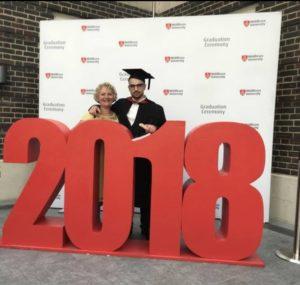 Guy Graduating 2018