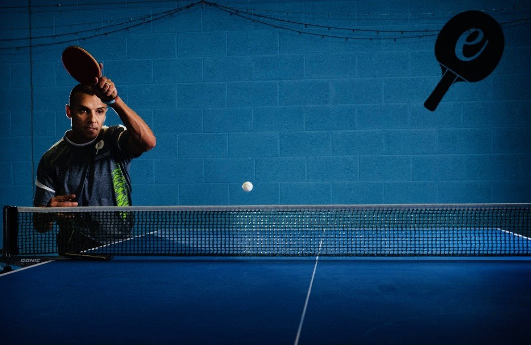 Table Tennis Forehand Topspin