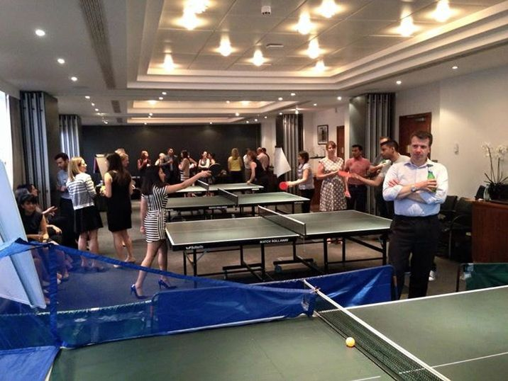 Table Tennis is a Sport, It's Not Business