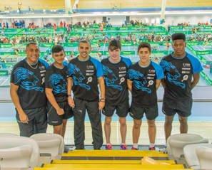 eBaTT Team at the Junior British League