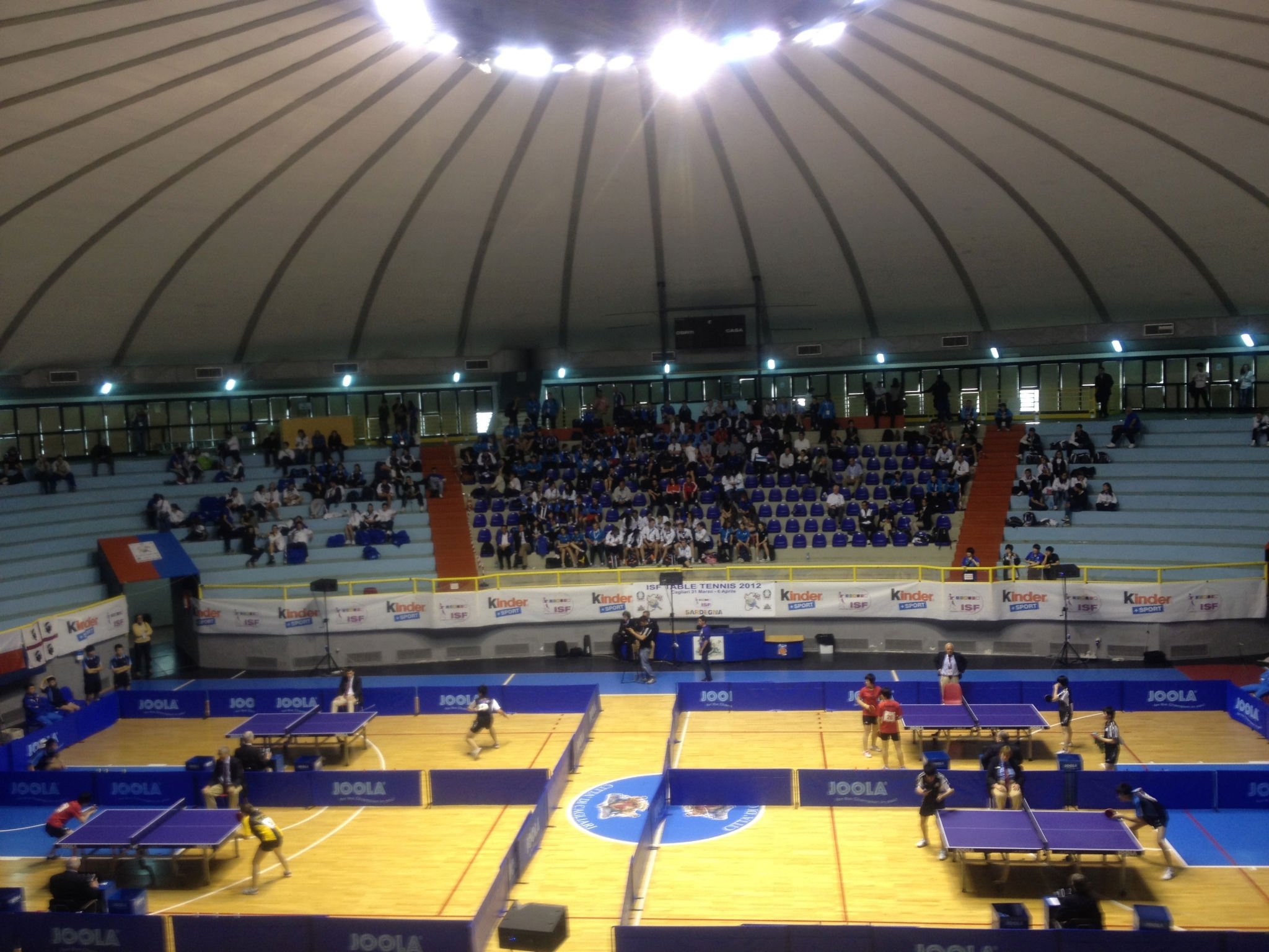 Table Tennis Match Play