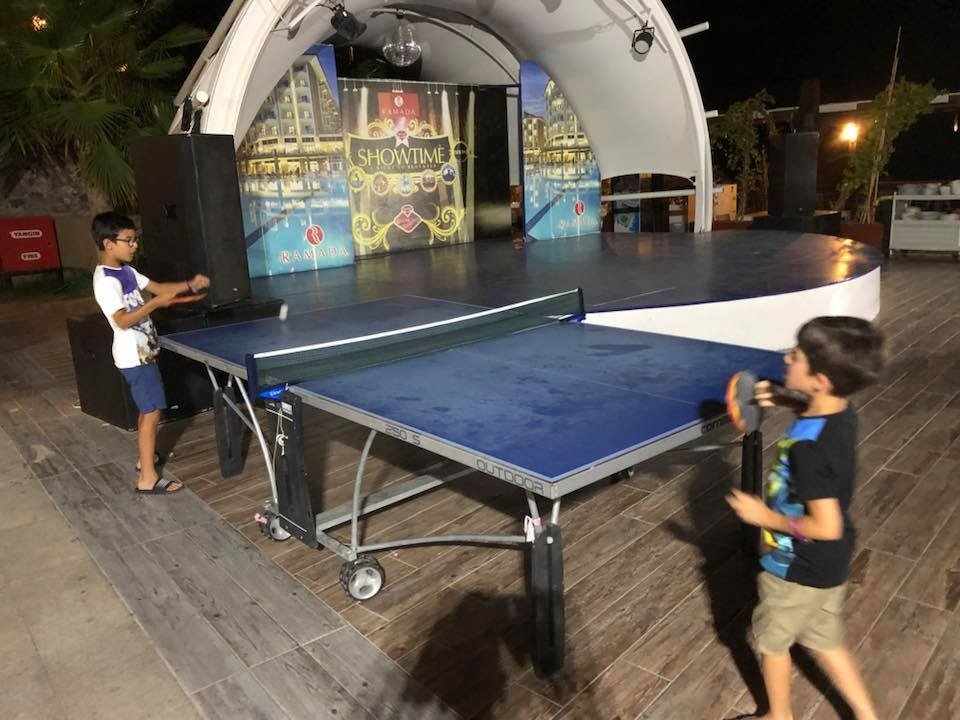 Holiday Table Tennis Competition, at the Hotel