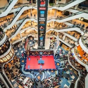 Table Tennis Shopping centre