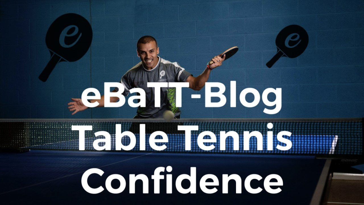 Table Tennis Confidence