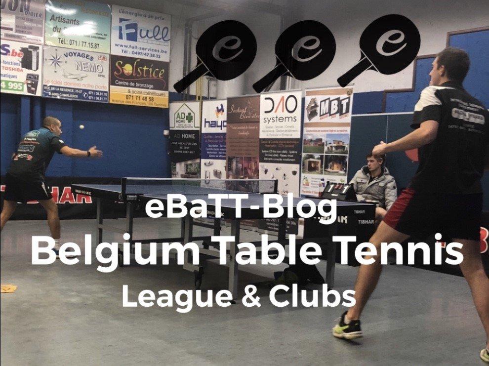 Table Tennis Culture in Belgium