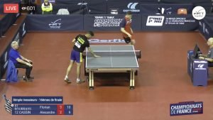French Table Tennis National Championships