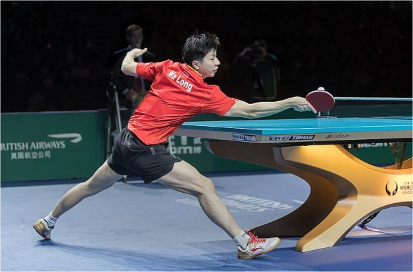 Ma Long Forehand touch