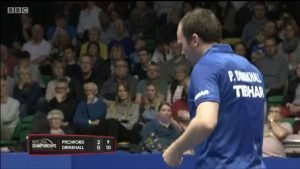 Paul Drinkhall vs Liam Pitchford 2019 Nationals
