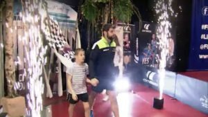 Table Tennis French Firework Intro