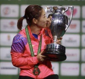 LIU Shiwen World Table Tennis Champion