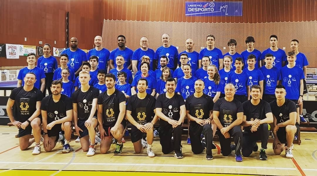Easter International Table Tennis Camp in Portgual Lagos
