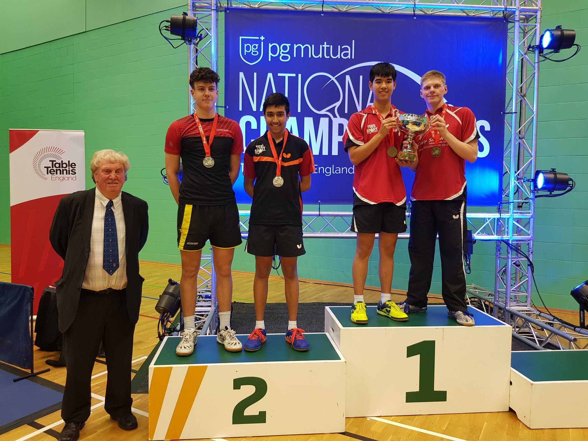 English Table Tennis National Junior Championships 2019