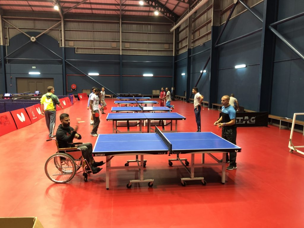 Para Table Tennis Coaching