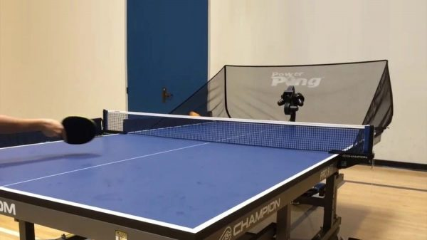 Power Pong table tennis robot